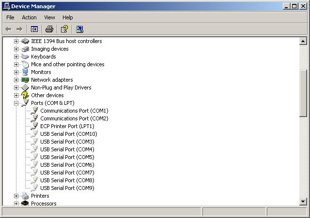 DMXter4 USB support Page